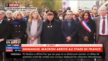 EN DIRECT - 13 Novembre : Emmanuel Macron est actuellement au Bataclan - Il parle aux victimes et familles des victimes