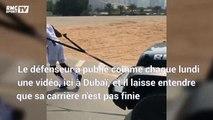 """""""Je reviendrai plus fort que jamais"""" assure Evra depuis Dubaï (en tirant une voiture)"""