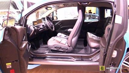 2017 BMW i3  Interior Walkaround  2017 Geneva Motor Show