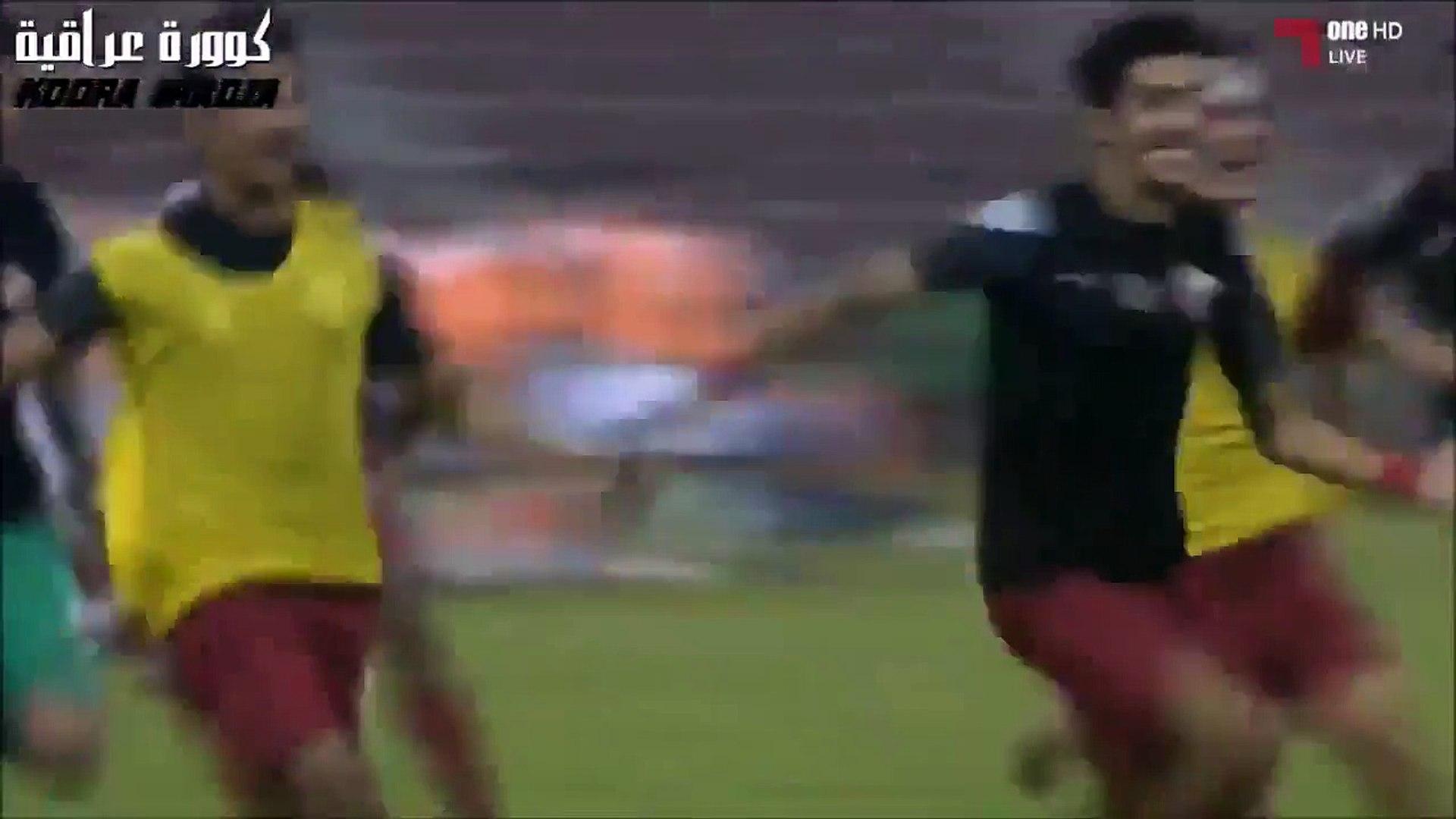 Incredible scene in Qatar U19 shoot-out / Iraq U19 vs. Qatar U19