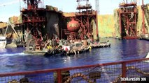 [HD] New! Updated WaterWorld Show new Universal Studios Hollywood