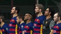 PES 2016 UEFA Champions League Final (FC Barcelona vs Real Madrid Gameplay)