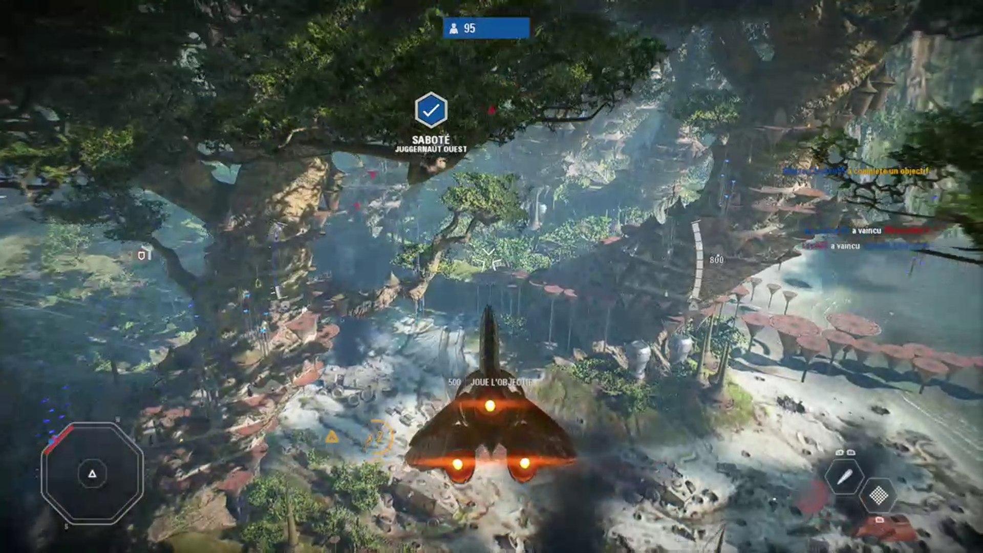 Star Wars Battlefront 2 Kashyyyk Multiplayer Fighter Gameplay Xbox One 2017 Video Dailymotion