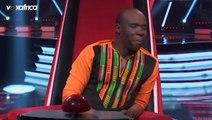 Hassane ' Sapés comme jamais ' de @Maître Gims feat @Niska Audition à l'aveugle The Voice Afrique francophone 2017