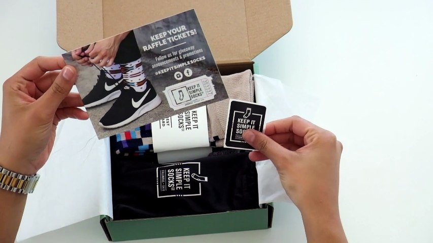 Keep It Simple Socks Co. Unboxing!