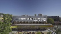#SemaineLFM : La nouvelle école maternelle du lycée français de Barcelone