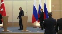 Erdoğan-Putin Ortak Basın Toplantısı - Rusya Devlet Başkanı Putin (1)