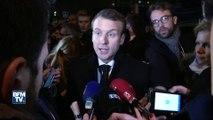 """Macron à Clichy-sous-Bois : """"Nous devons changer les choses (…) on a une politique collective du logement qui n'est pas efficace"""""""
