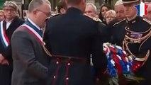 Macron rend hommage aux victimes des attentats du 13 novembre
