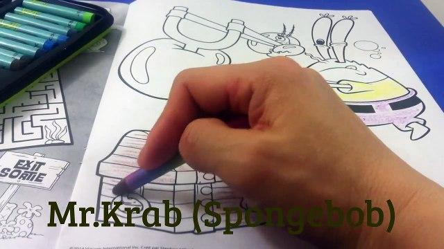 Mr. Krabs - Spongebob Squarepants Coloring Book