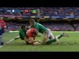 Second Half Highlights Wales v Ireland Rugby Match 02 Feb 2013