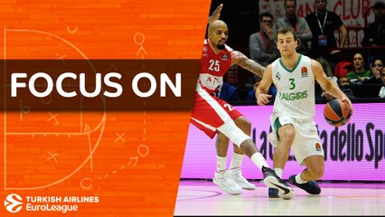 Focus on Kevin Pangos, Zalgiris: Second time around