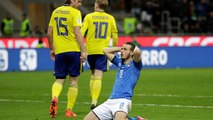 Football: Italy fail to qualify for a World Cup for the first time in 60 years after a goal-less draw in Milan gives Sweden a 1-0 aggregate victory in play-offs