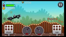 Hill Climb Racing - POLICE CAR (Fully Upgraded) - GamePlay HD