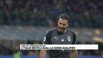 Qualifications Coupe du Monde 2018 - Italie / Suède - Le résumé du match