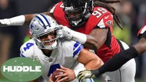 Cowboys Get OBLITERATED without Ezekiel Elliott; Is Dak Prescott Overrated? -The Huddle