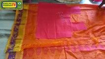 How to make designer blouse at home-26/langa blouse cutting and stitching(pattu BLOUSE)