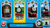 Thomas Tank Engine & Friends: Race On Game - Blue Mountain Quarry - Stations Levels 7-12 All Engines