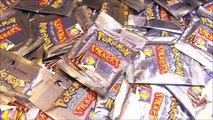 MEGA Ouverture de 50 boosters Pokémon Stickers 1ère Génération ! BIG OPENING POKEMON !