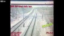 Woman kills herself on the train tracks
