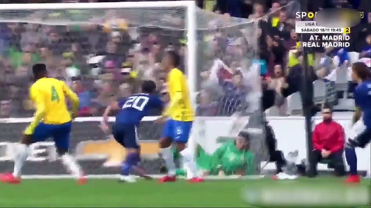 JAPAN vs BRAZIL 1-3 ● All Goals & Highlights HD ● FRIENDLY