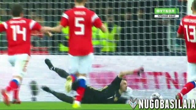 Russia Vs Argentina 0-1 - All Goals & Highlights - Resumen y Goles 11/11/2017 HD