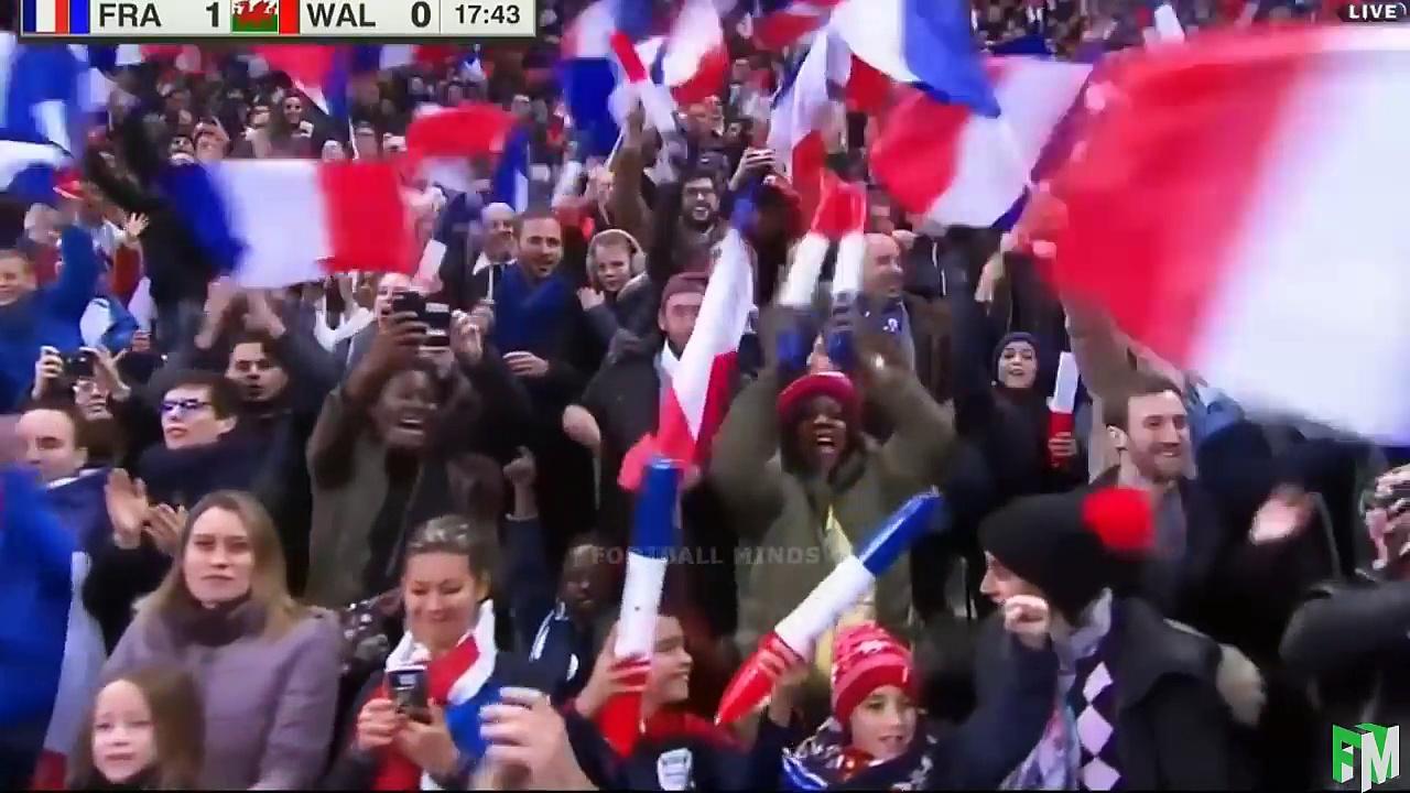 France vs Wales 2-0 – Highlights & Goals