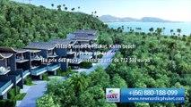 Villa à vendre à Phuket avec vue sur la mer. Immobilière Phuket (Thaïlande)