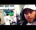 F1 2017 Brazilian GP qualifying Lewis Hamilton crash reaction