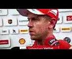 F1 2017 Brazilian GP Free practice 2 Sebastian Vettel reaction