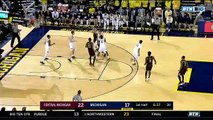 NCAA Basketball. Michigan Wolverines - Central Michigan Chippewas 13.11.17 (Part 1)