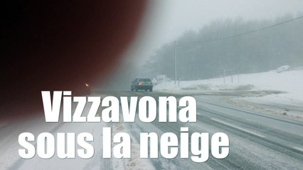VIDÉO. Conditions difficiles à Vizzavona
