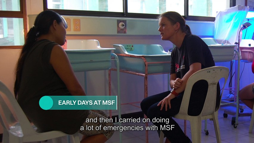Natalie Roberts Manager of the Emergency Unit at MSF