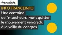 """INFO FRANCEINFO. Une centaine de """"marcheurs"""" vont quitter le mouvement vendredi, à la veille du congrès"""