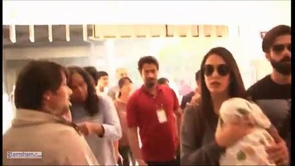 152.Shahid Kapoor turns protective of Mira Rajput & daughter Misha