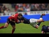 France v Scotland, First Half Highlights, 07th Feb 2015