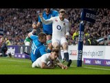 Quick thinking from Danny Care results in try in the corner! | RBS 6 Nations