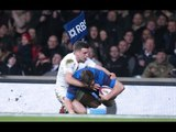 Magnificent Vincent Debaty Try, England v France, 21st March 2015