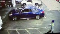 Se faire voler sa voiture au garage au lieu d'une vidange...