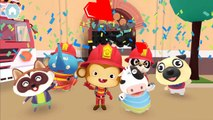 Fun Animals Care #f -  Firefighter Kids Games - Real Heroes Help & Rescue Animals In City On Fire
