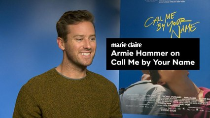 Marie Claire - Armie Hammer - Call me by your Name