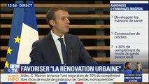 """""""Les dotations aux collectivités ayant de nombreux quartiers populaires seront maintenues"""", promet Macron"""