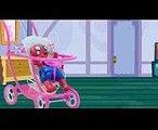 Đất nặn người nhện - Hoạt hình siêu nhân nhện và nữ hoàng băng giá Elsa  P2 (1)
