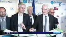 Auvergne-Rhône-Alpes : accord sur une nouvelle convention TER