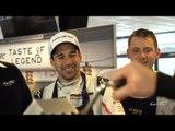 Porsche Team Andre Lotterer/Nick Tandy/Neel Jani make you some nice Liège Waffles