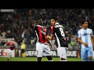 Nice 1-3 Lazio : le but de Super Mario