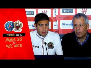 Paris SG - OGC Nice : Paroles de conf'