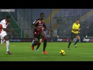 Le doublé d'Eric Mouloungui contre Lorient (2010-2011)