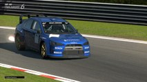 Lancer Evolution X Rally Car WRC vs Super GT Circuit Nordschleife Tipo V Full HD