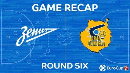 7Days EuroCup Highlights Regular Season, Round 6: Zenit 90-85 Gran Canaria